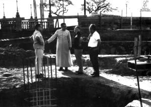 Mons. Abílio e as fundações