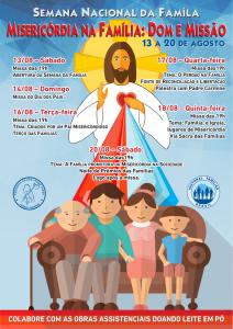 Semana Nac da Famíla_cartaz