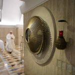 Papa na Santa Marta: consolo não é diversão, mas paz do Senhor