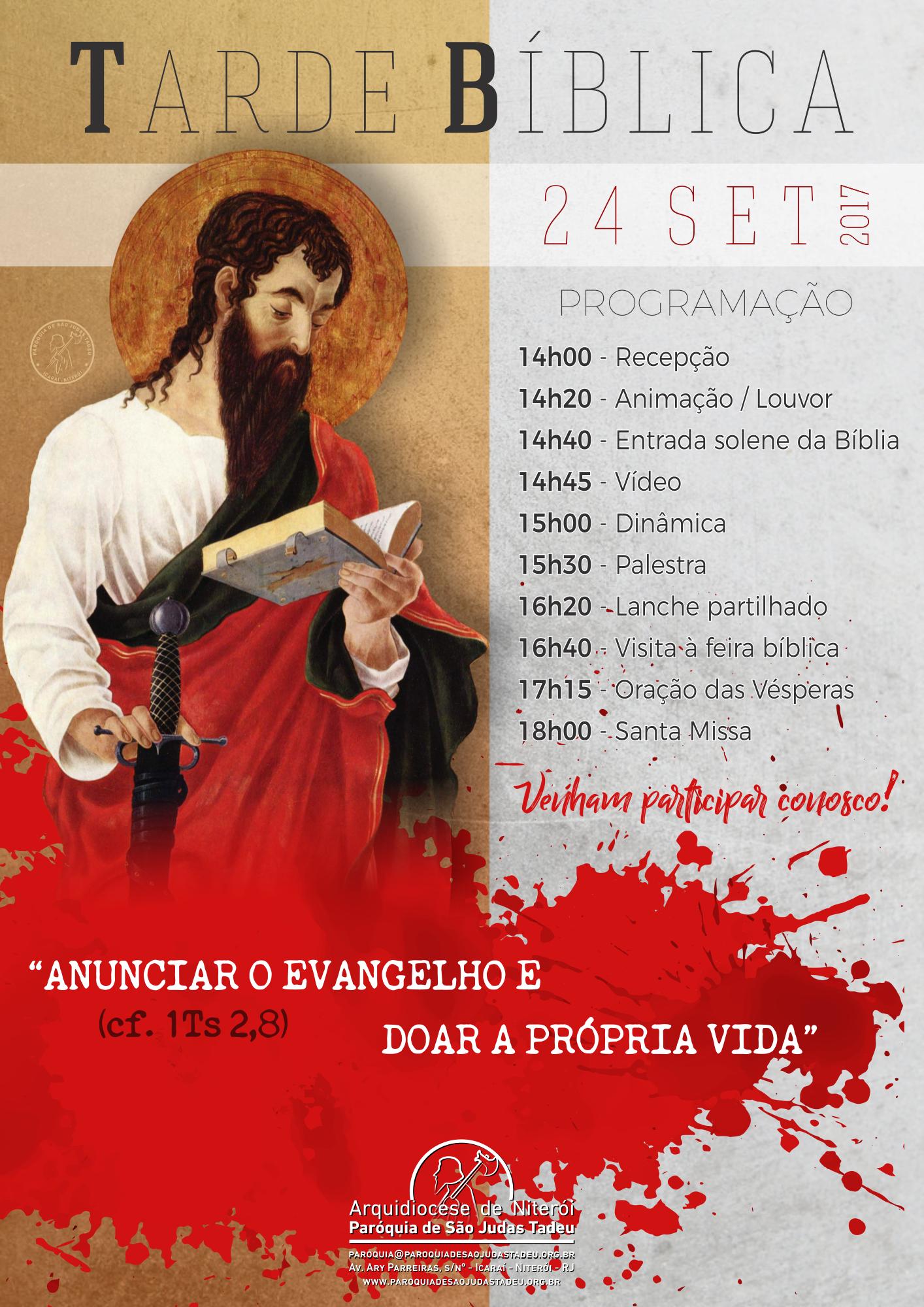 Tarde Bíblica 2017
