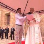 Em Cartagena, o Papa Francisco alenta solução para a grave crise da Venezuela