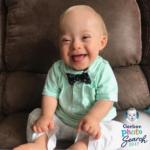Empresa de produtos de bebê usa imagem de criança com síndrome de Down
