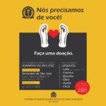 Seminário São José pede doações de alimentos