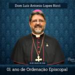 Arquidiocese parabeniza Dom Luiz Ricci pelo 1º ano de Episcopado
