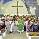 1ª Missa da Paróquia de S. Judas Tadeu na Capela S. João Paulo II