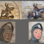 A fracassada restauração da imagem de São Jorge que movimenta as redes sociais