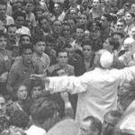Enquanto Roma era bombardeada, um corajoso Papa saiu às ruas para levar consolo